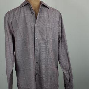 Calvin Klein slim fit button down office shirt.